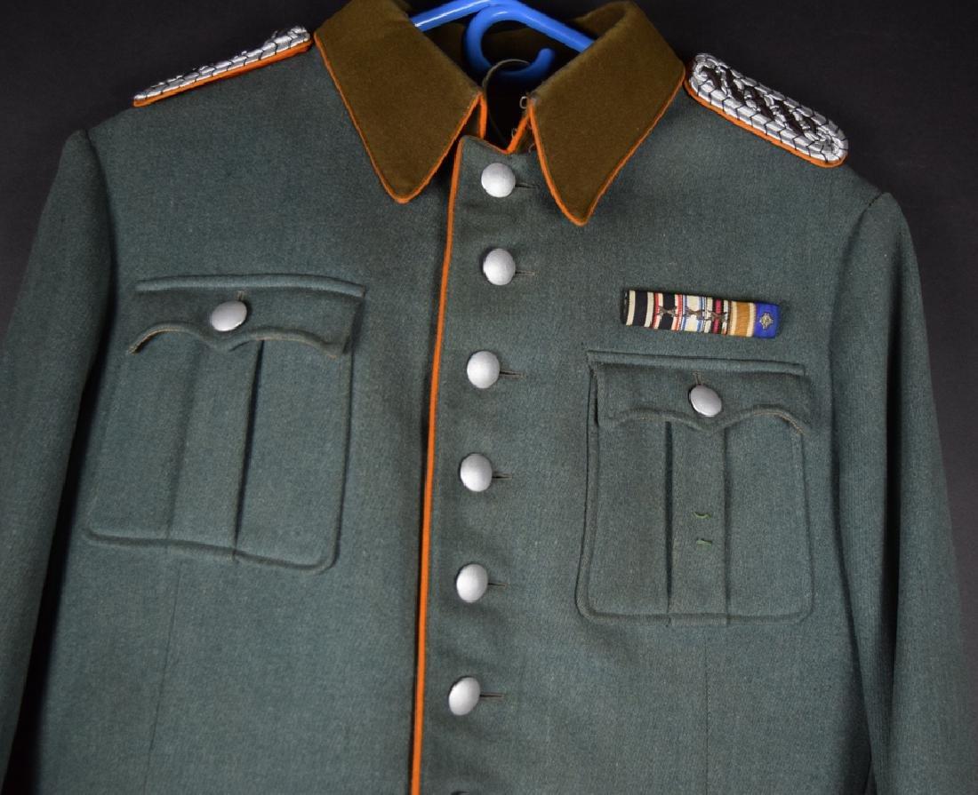 WWII German Rural Police Uniform Coat, Pants, Hat - 2
