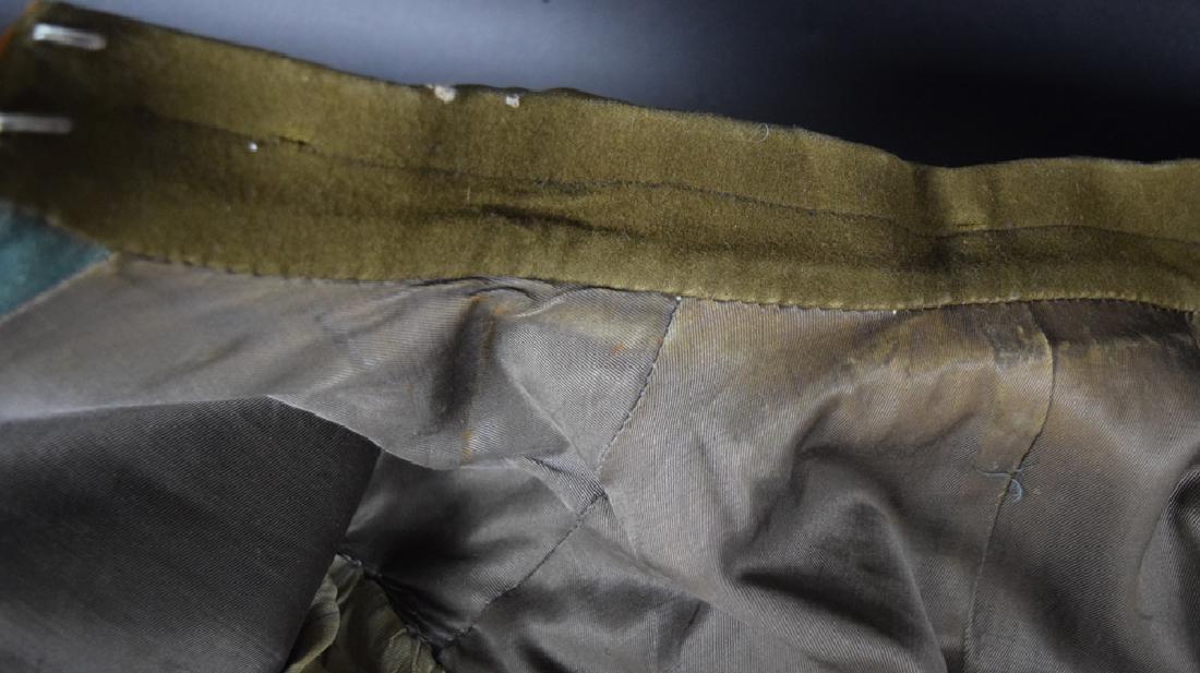 WWII German Rural Police Uniform Coat, Pants, Hat - 3