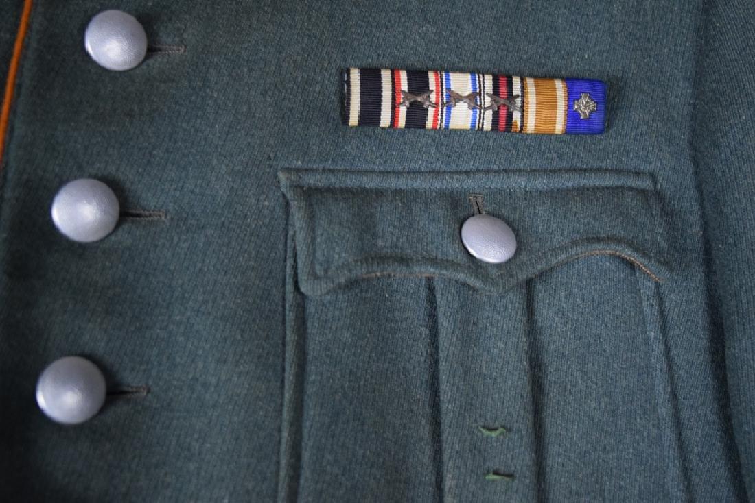 WWII German Rural Police Uniform Coat, Pants, Hat - 6