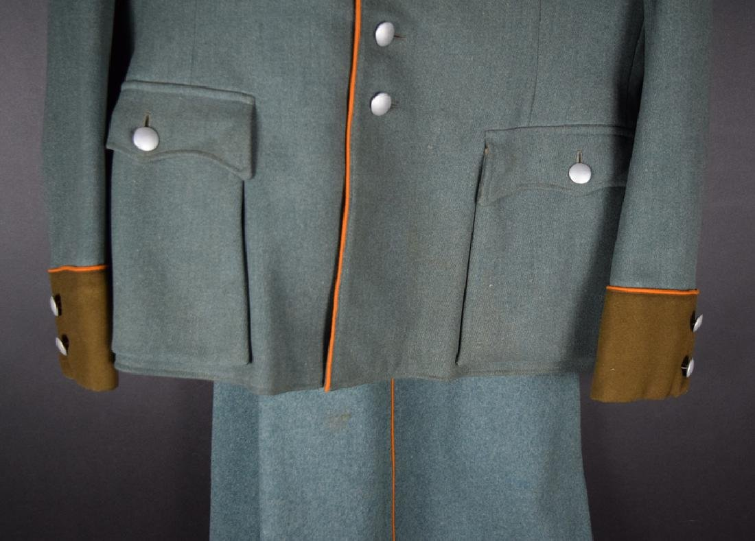 WWII German Rural Police Uniform Coat, Pants, Hat - 7