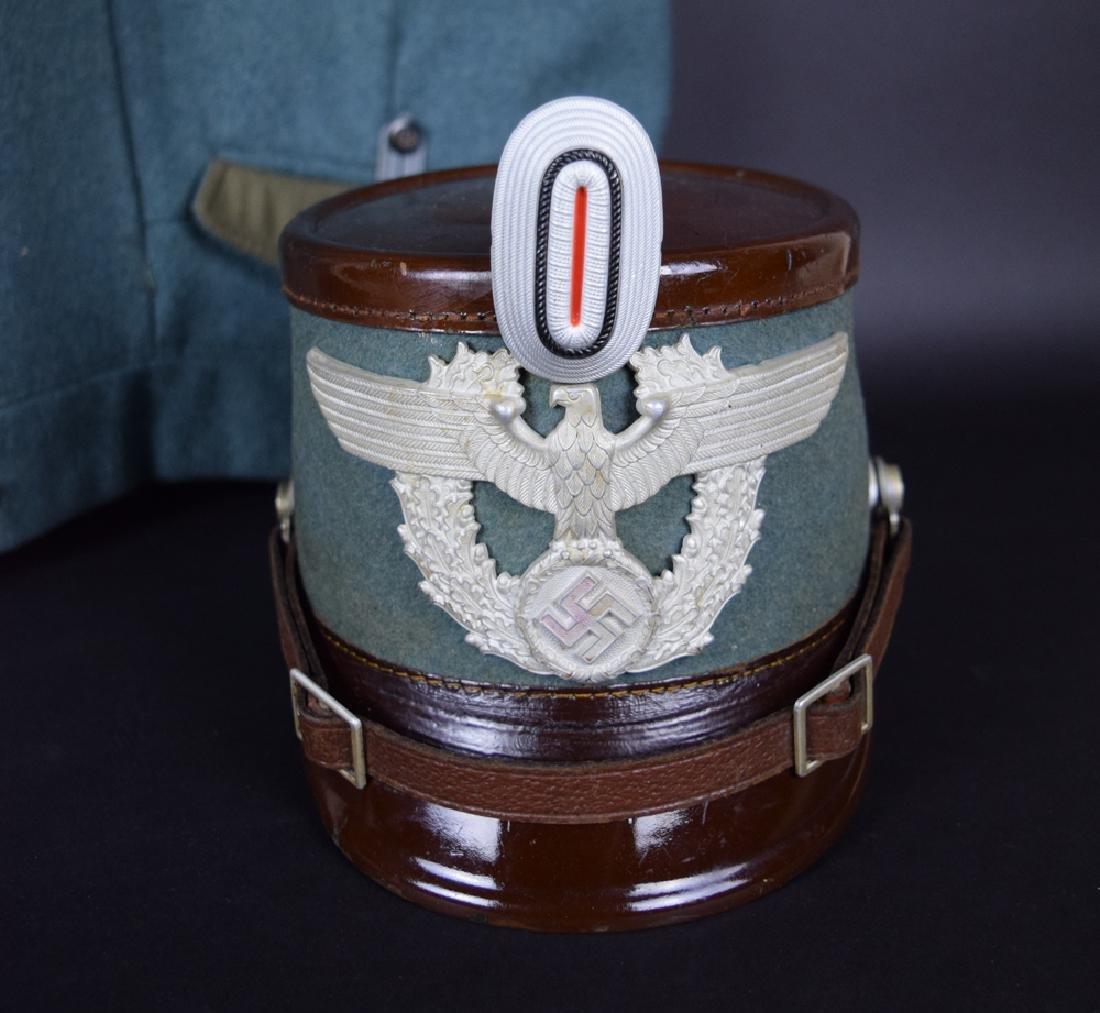 WWII German Rural Police Uniform Coat, Pants, Hat - 8