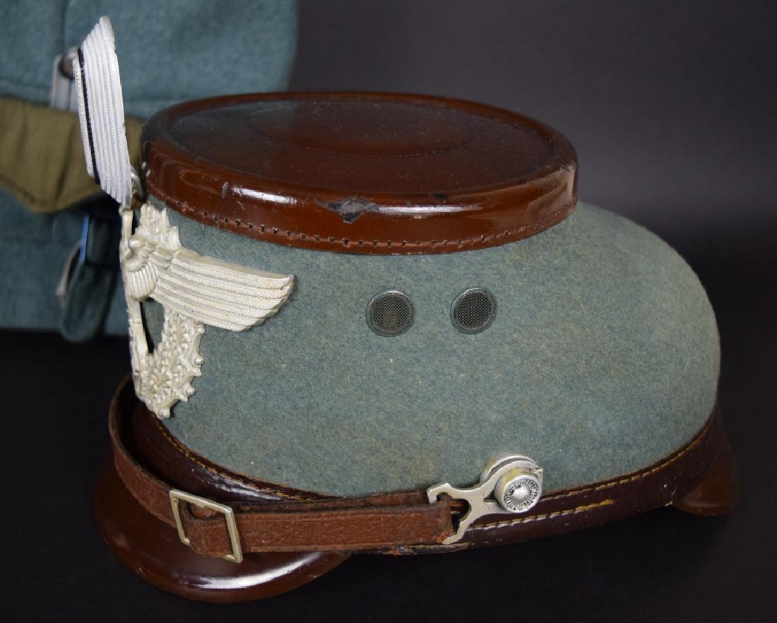 WWII German Rural Police Uniform Coat, Pants, Hat - 9