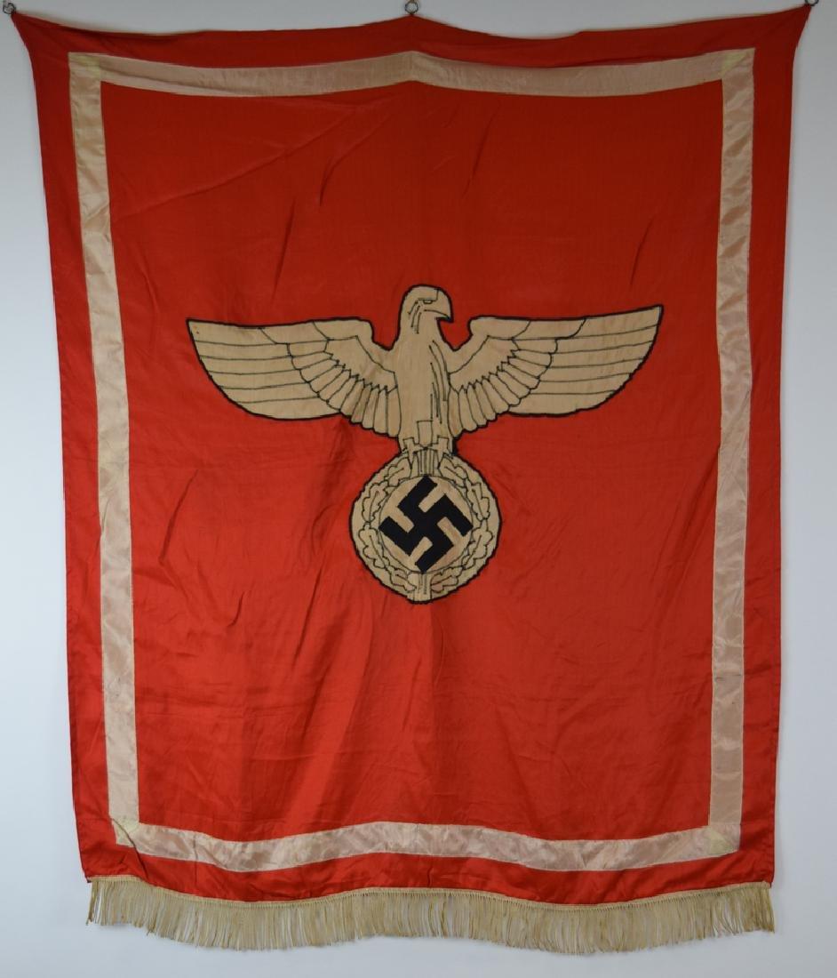 WWII German  Gauleiter Podium Banner
