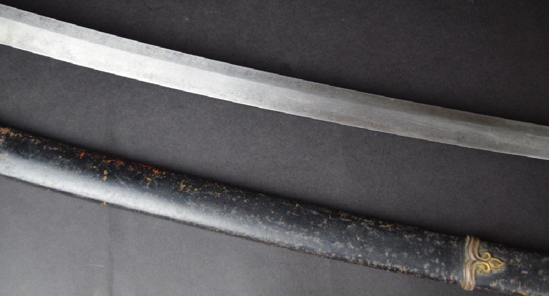 Japanese WWII Officer Katana Sword - 4