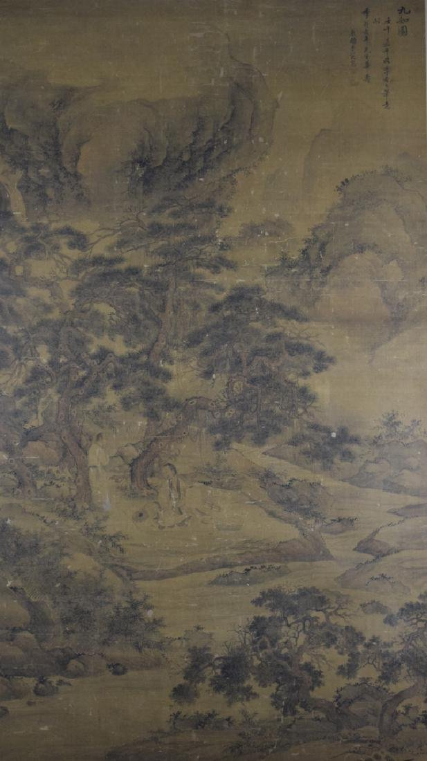 Rare Chinese antique watercolor painting - 2