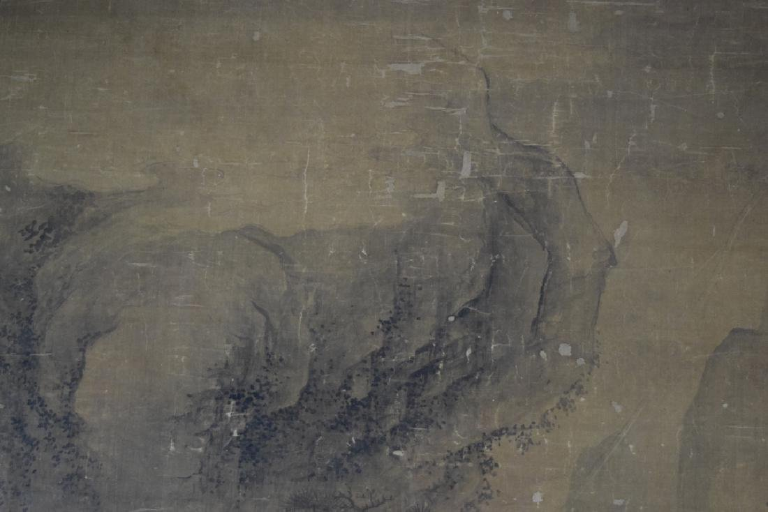 Rare Chinese antique watercolor painting - 3