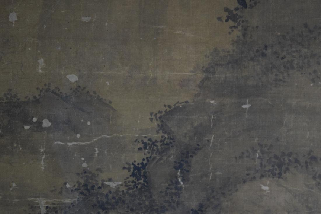 Rare Chinese antique watercolor painting - 4