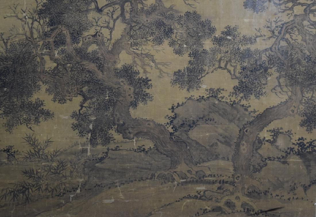 Rare Chinese antique watercolor painting - 7