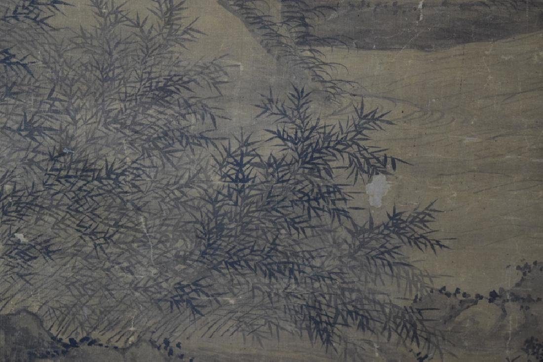 Rare Chinese antique watercolor painting - 9