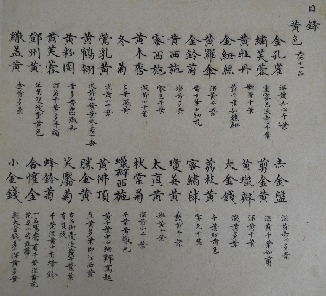 Twenty pages of Chinese calligraphy album of - 10