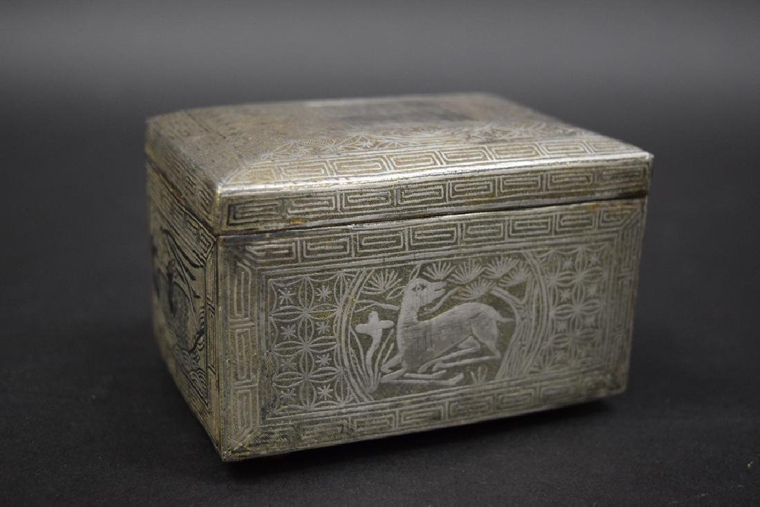 Korean mixed metal box