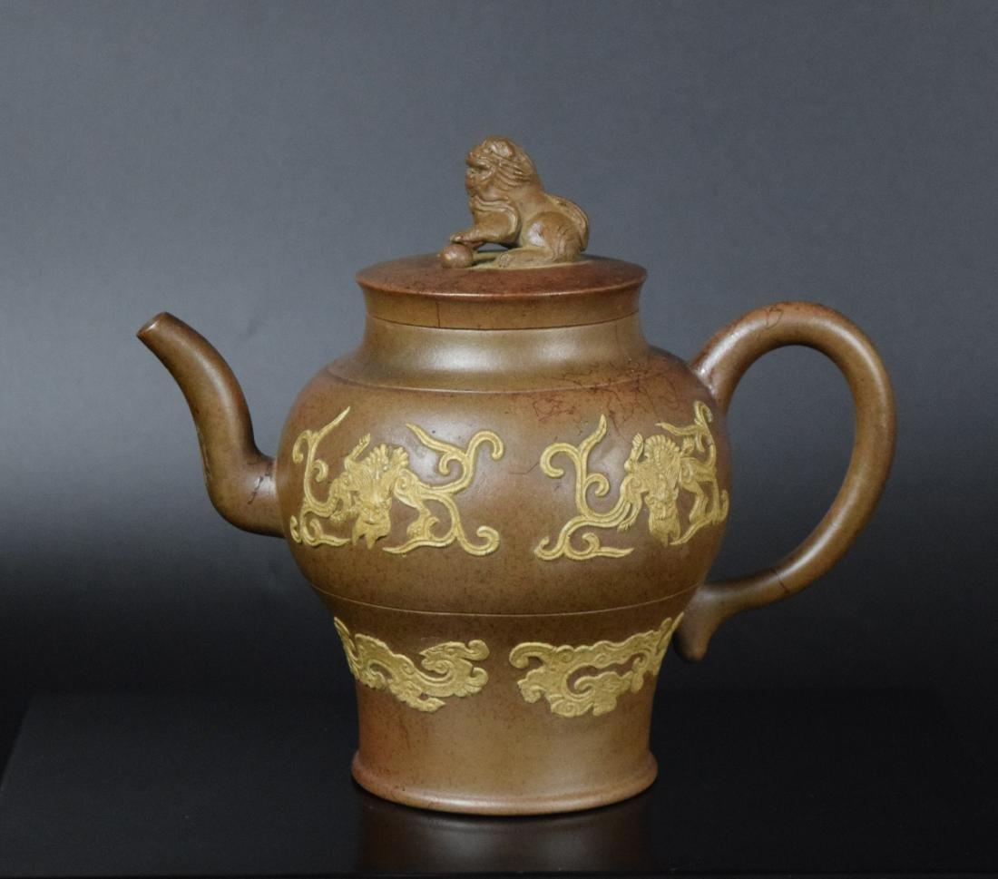 Chinese Qing Yixing Tea pot