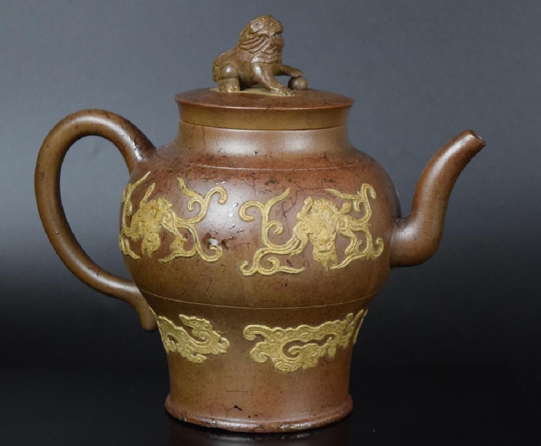 Chinese Qing Yixing Tea pot - 2