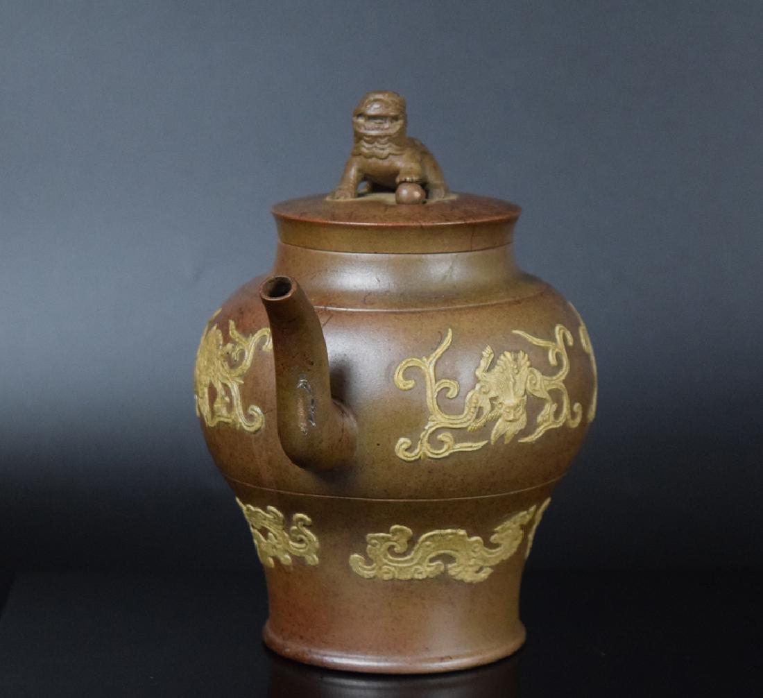 Chinese Qing Yixing Tea pot - 3