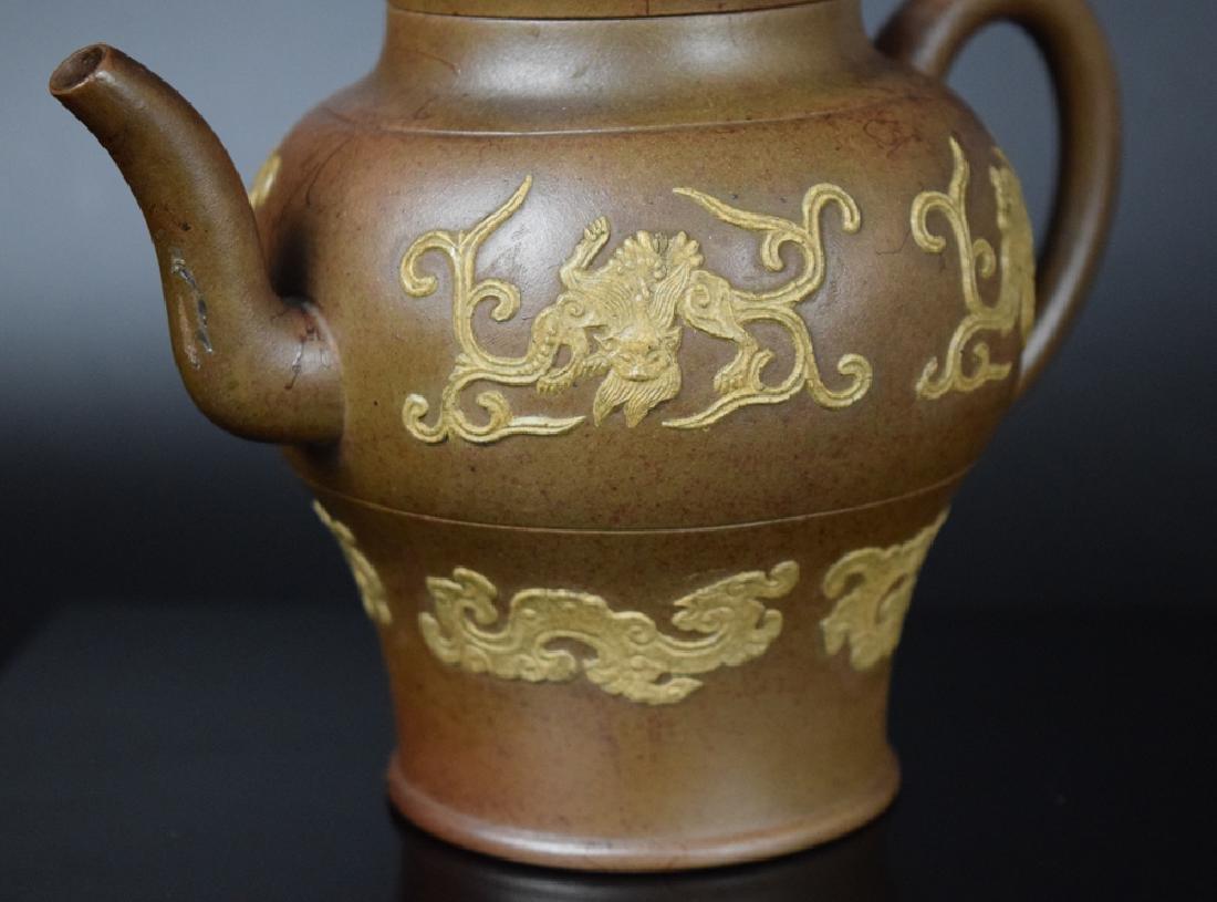 Chinese Qing Yixing Tea pot - 4