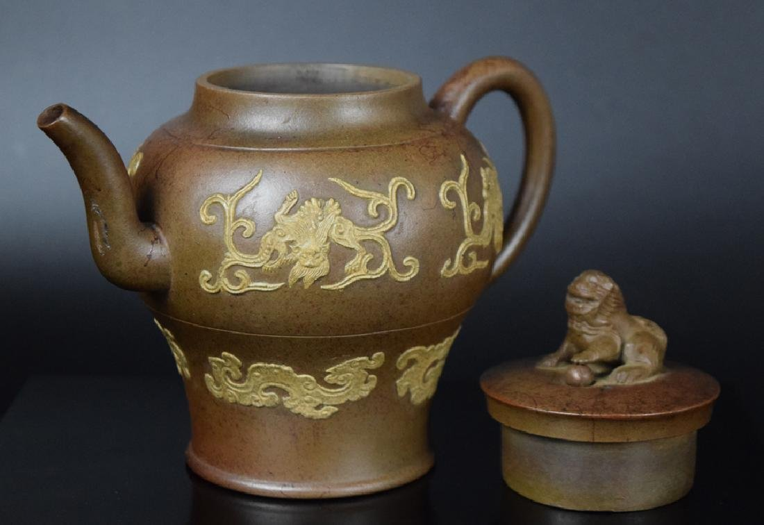 Chinese Qing Yixing Tea pot - 5