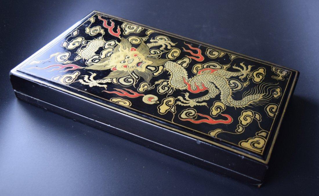 Set of 8 Chinese Qing ink sticks - 7
