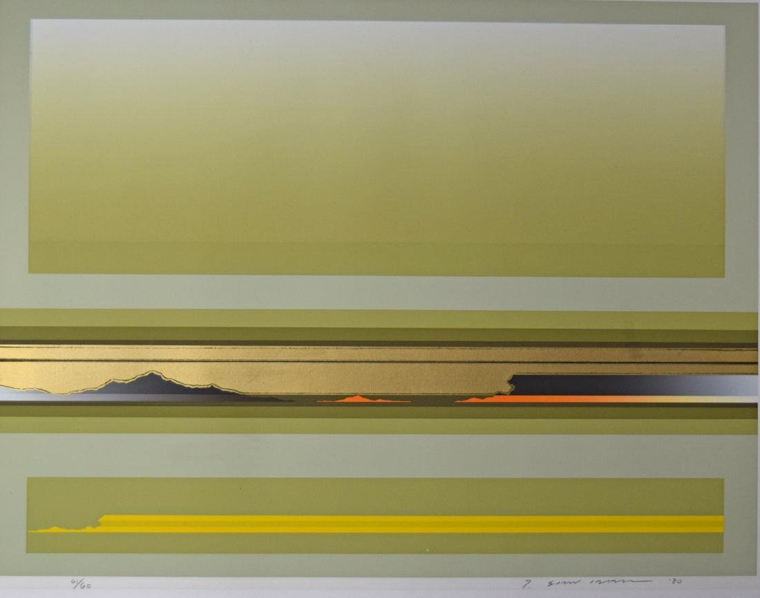 Sawada Tetsurio Woodblock Print - 2