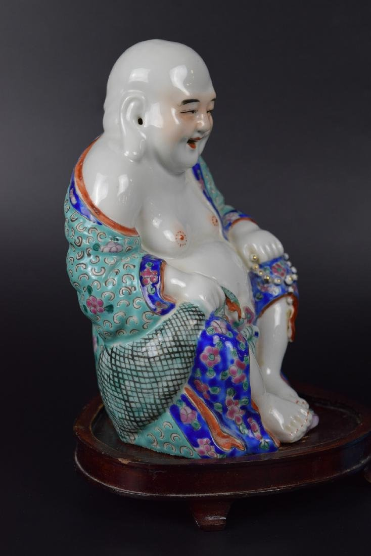 Two Chinese Republic Porcelain Figures - 4