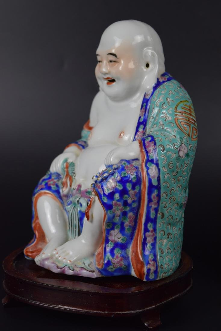 Two Chinese Republic Porcelain Figures - 6