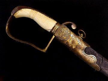 War of 1812 era American Officer's Sword in Fine  Gilt