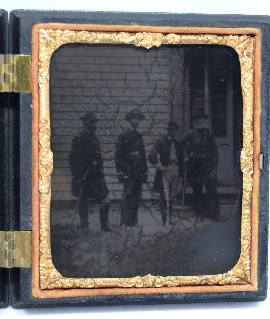 Important Ambrotype Image of US Civil War General &