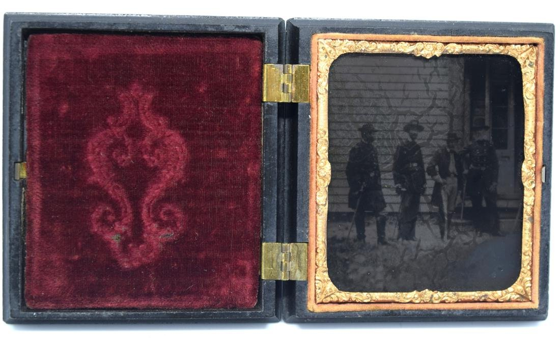 Important Ambrotype Image of US Civil War General & - 2