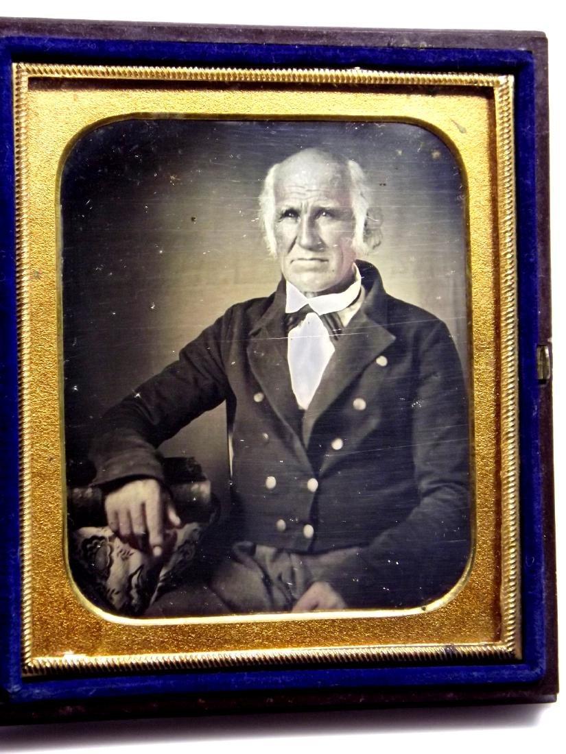 Rare 1/6 plate Daguerreotype Image of Civil War Navy