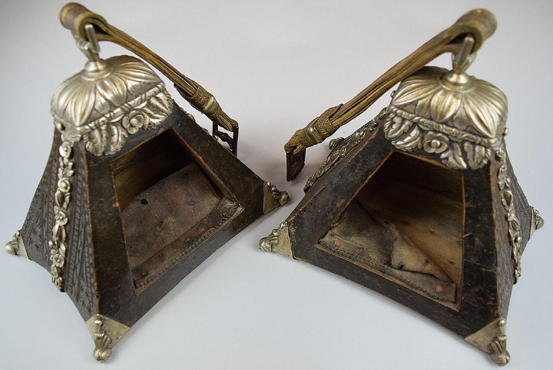 Spectacular 17th-18th C. Spanish Colonial Pair of - 10