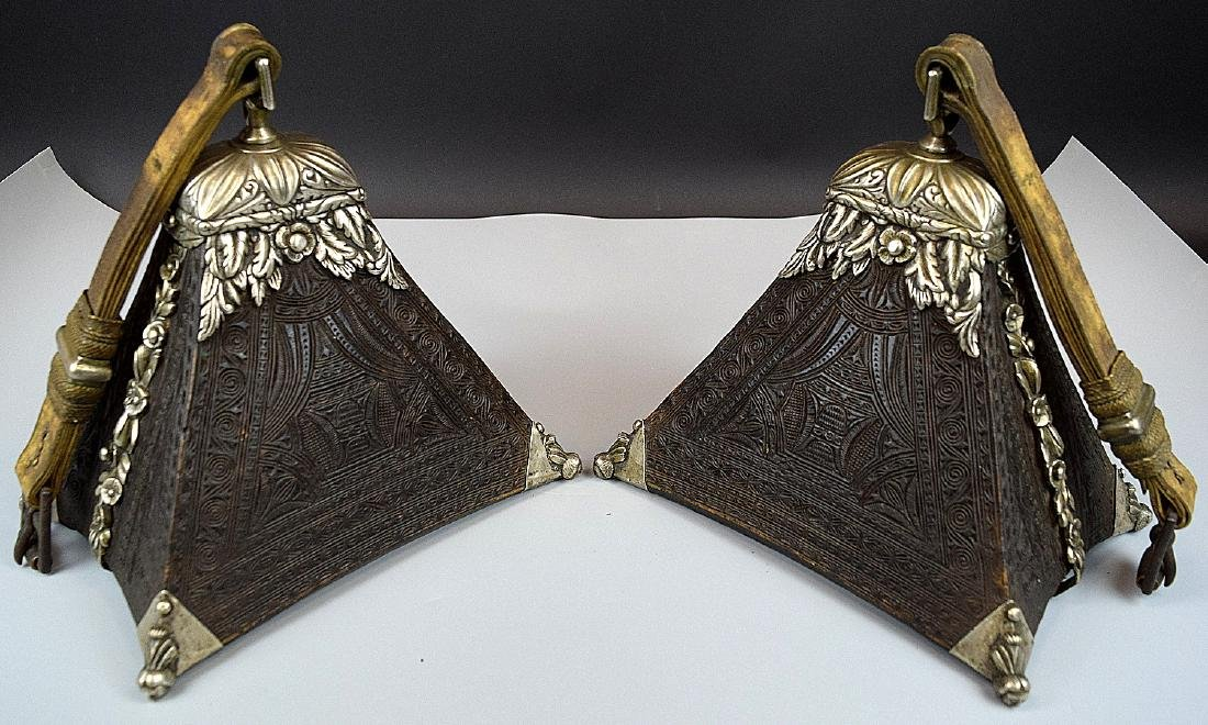 Spectacular 17th-18th C. Spanish Colonial Pair of - 2