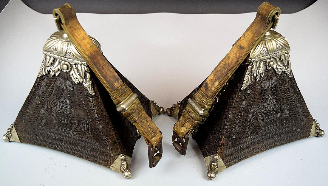 Spectacular 17th-18th C. Spanish Colonial Pair of - 7