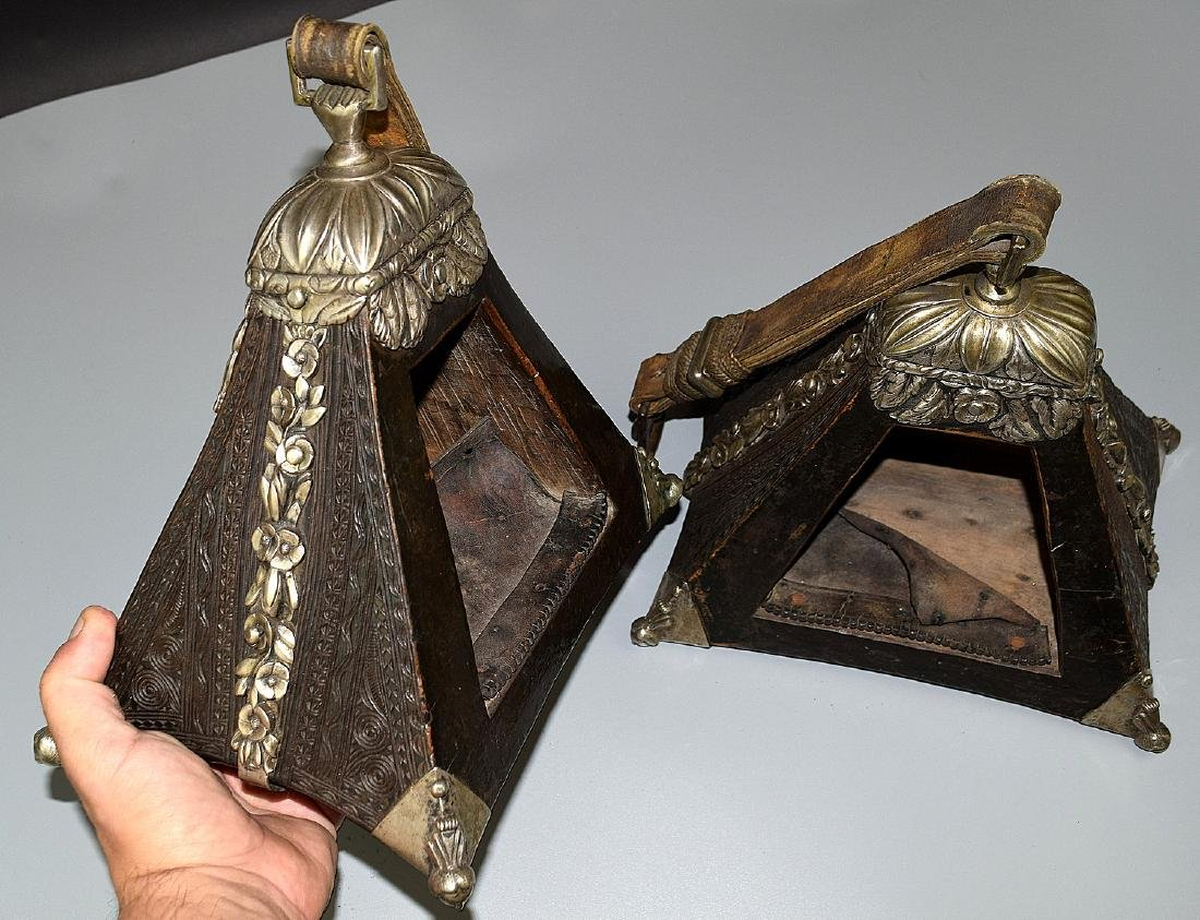 Spectacular 17th-18th C. Spanish Colonial Pair of - 8