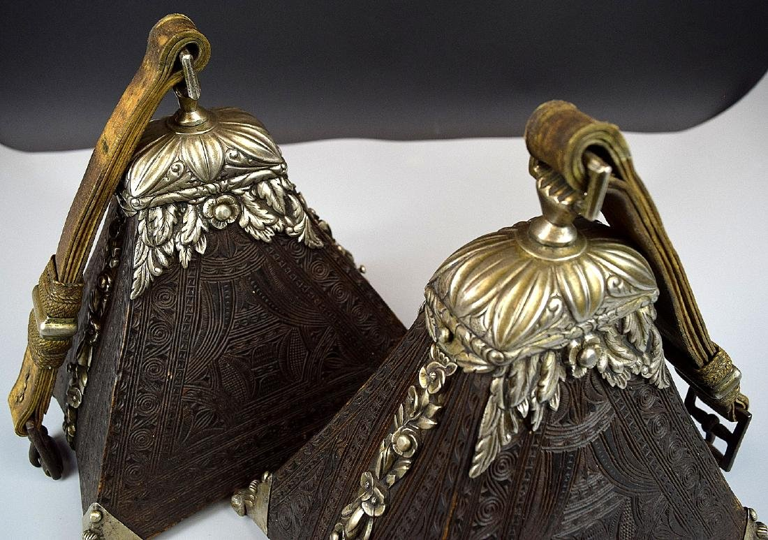 Spectacular 17th-18th C. Spanish Colonial Pair of - 9