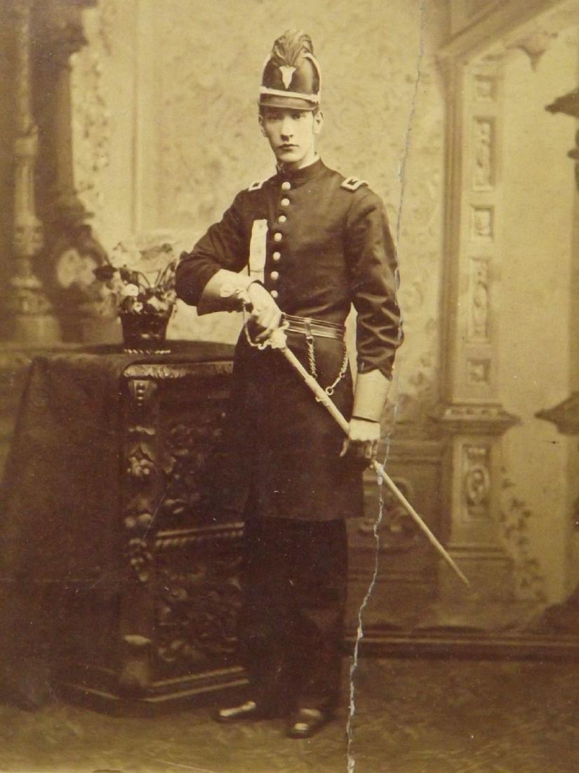 Large CDV Photograph of US Civil War era Militia - 2