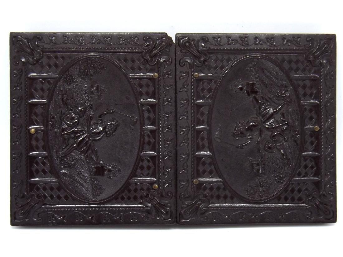 1/9 plate Melainotype Tintype Image of Civil War - 4