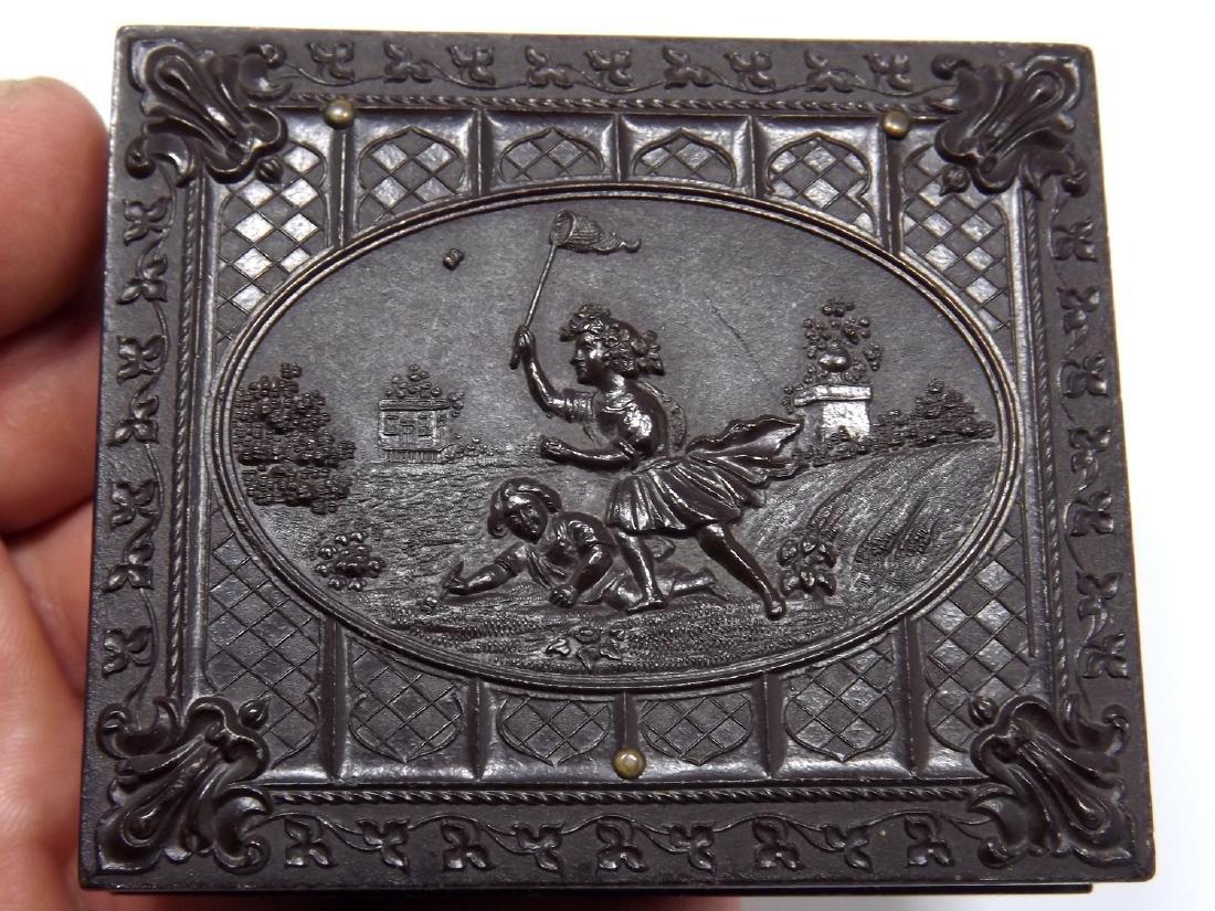 1/9 plate Melainotype Tintype Image of Civil War - 5