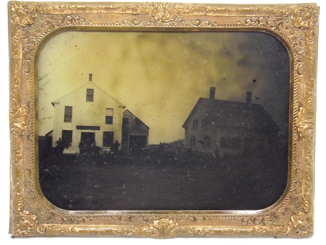 Very Rare Civil War era Half plate Tintype Image of