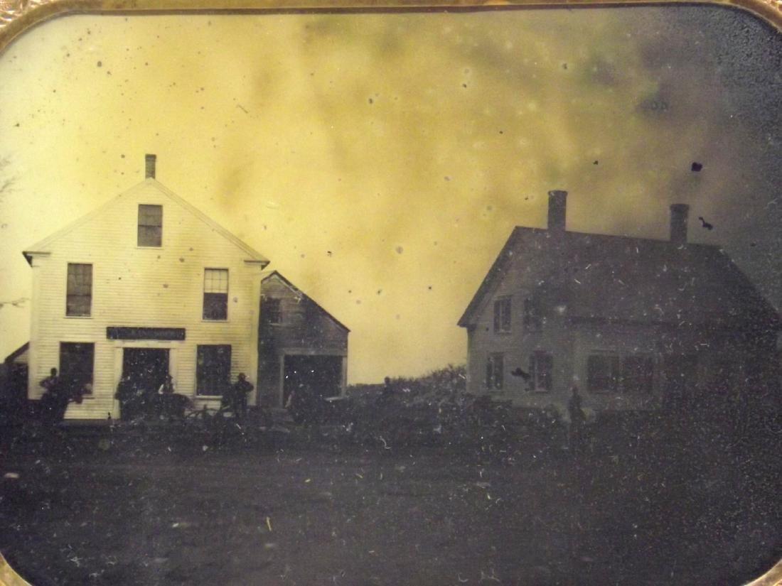 Very Rare Civil War era Half plate Tintype Image of - 2