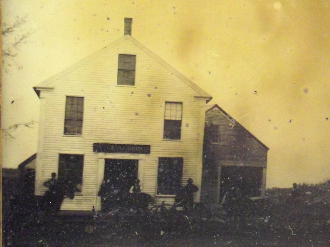 Very Rare Civil War era Half plate Tintype Image of - 3