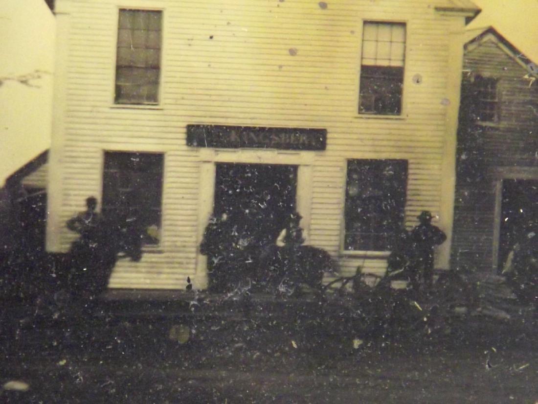 Very Rare Civil War era Half plate Tintype Image of - 4