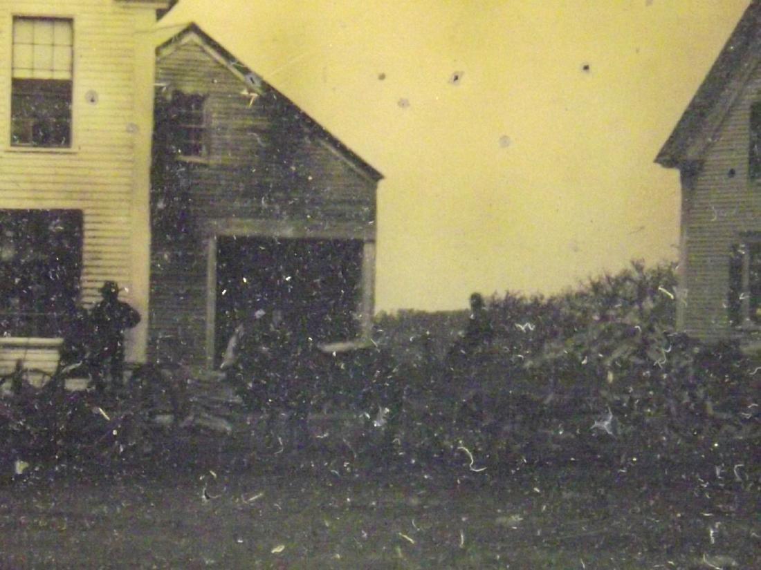 Very Rare Civil War era Half plate Tintype Image of - 5