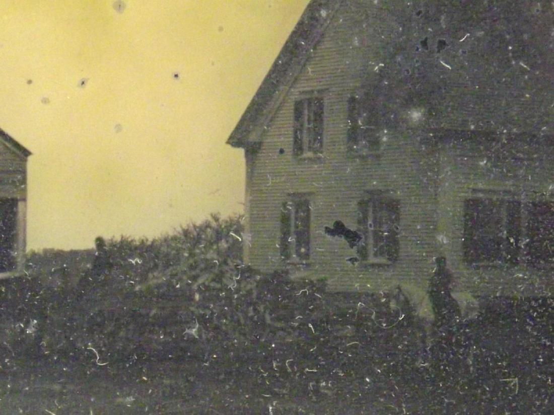 Very Rare Civil War era Half plate Tintype Image of - 6