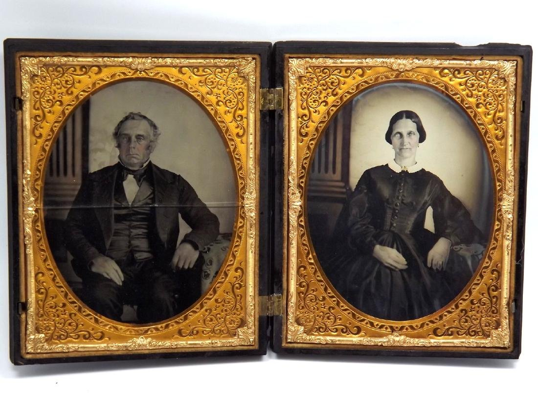 Nice Set of Half plate Tintype/Ambrotype Images of