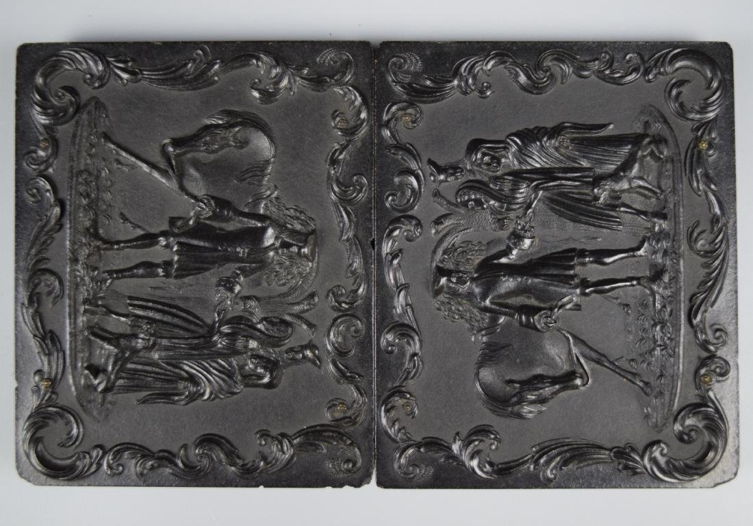 """Scarce """"Sir Roger deCoverly and the Gypsies"""" 1/4 plate"""