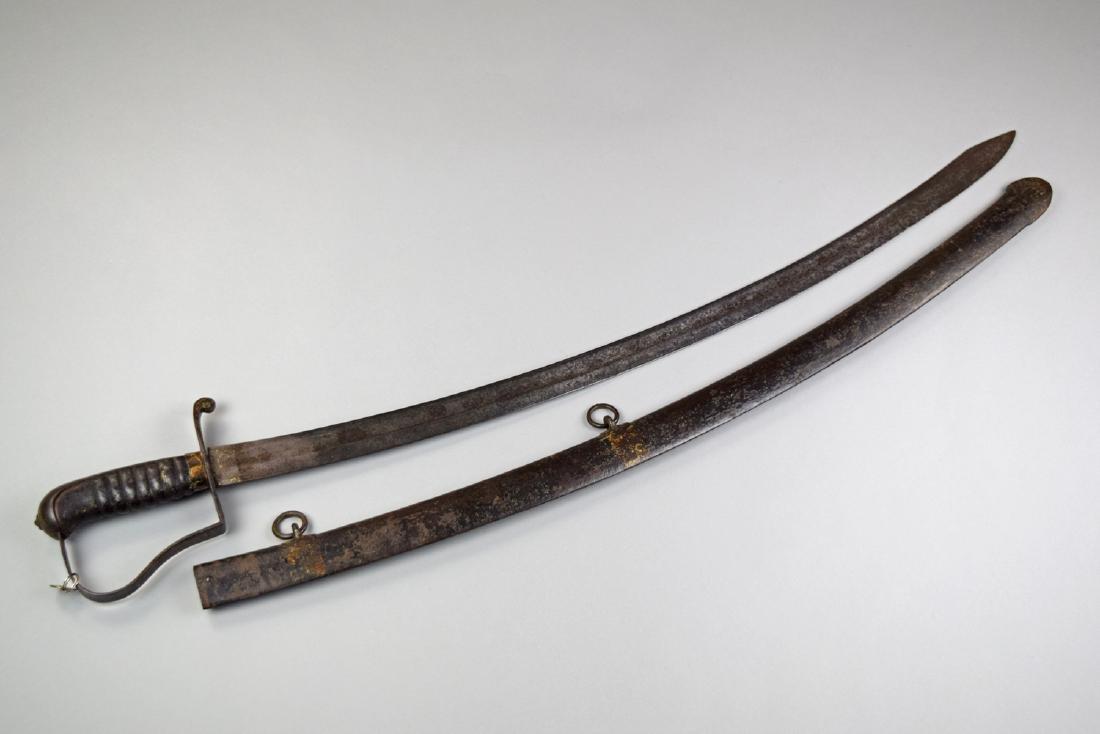 US Civil War Cavalry N. Starr Sword - 2