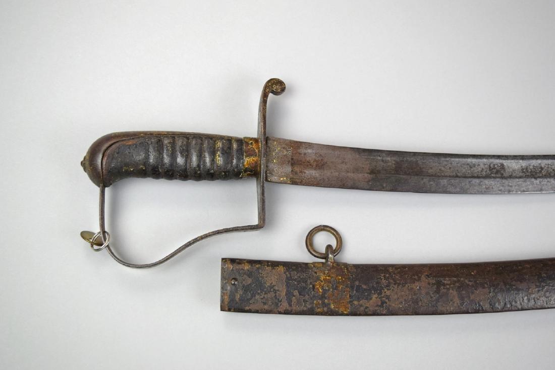 US Civil War Cavalry N. Starr Sword - 4