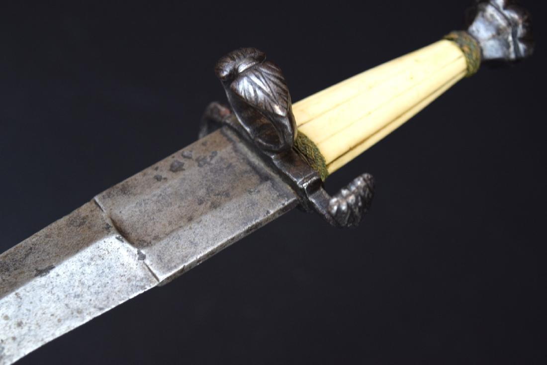 """Rare 16th C. Italian Aristocrat's """"Chinquedia"""" Dagger, - 10"""