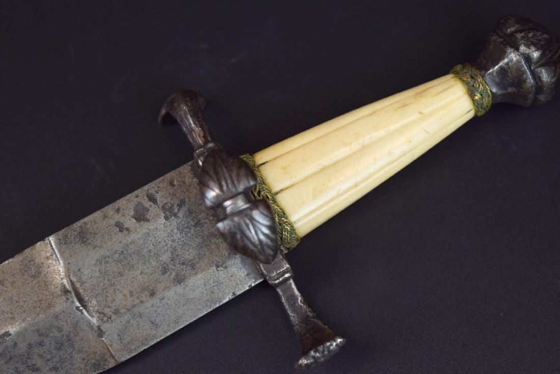 """Rare 16th C. Italian Aristocrat's """"Chinquedia"""" Dagger, - 2"""