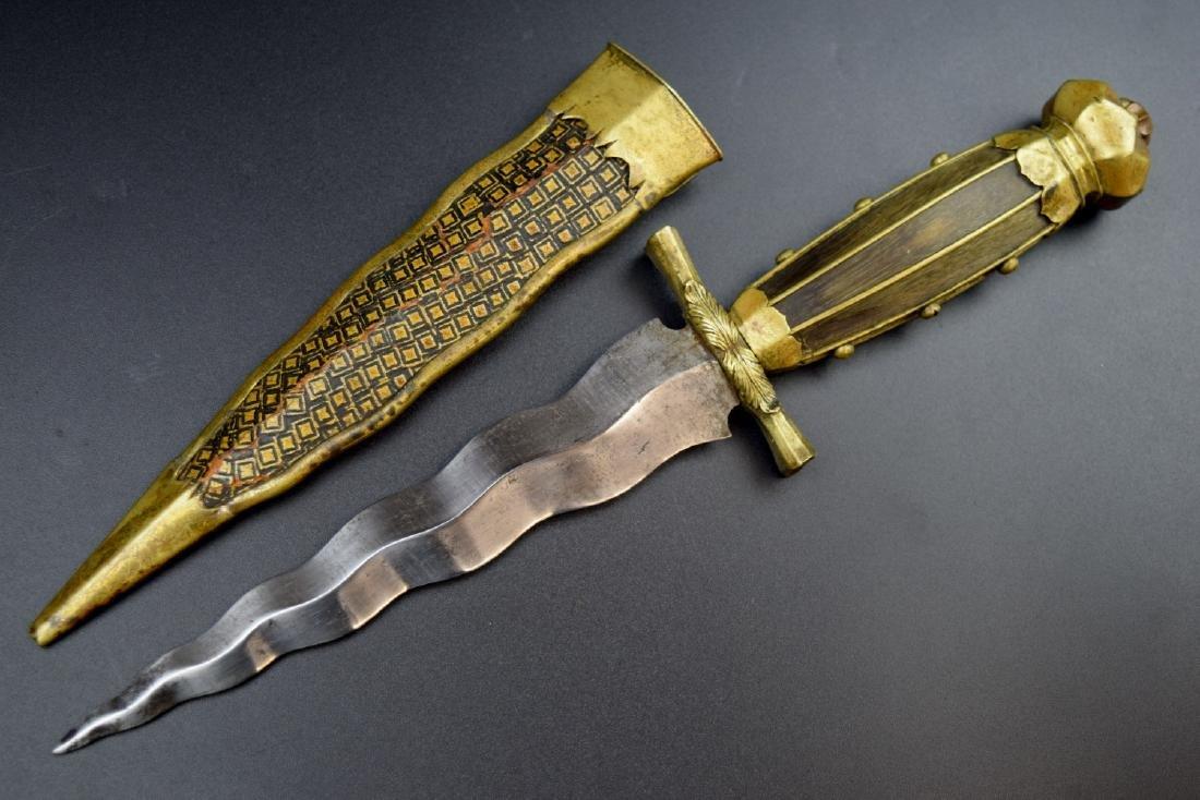 An Outstanding 18th C. European Naval Dagger Navy Dirk, - 6