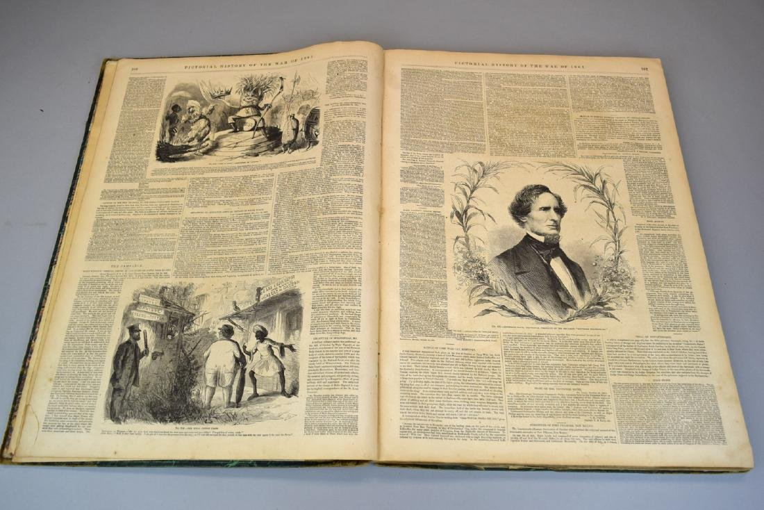 Rare Two 1861 Frank Leslie's Pictorial History of the - 6